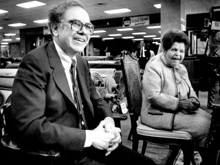 Warren Buffett and Rose Blumkin