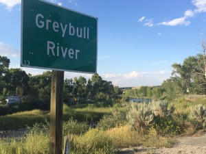 Greybull River in Wyoming