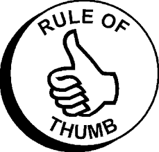Strategy Rule of Thumb